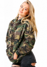 Women Camouflage Print Pullover Hooded Hoodie Lightweight Pullover Hooded Sweatshirts